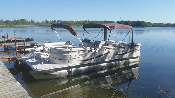 Lake nipissing northern ontario fishing boat pontoon rental for Fishing boat rentals